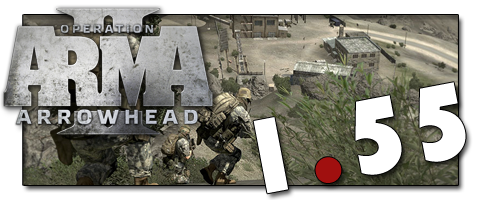 Патч для ArmA 2: Operation Arrowhead версия 1.55