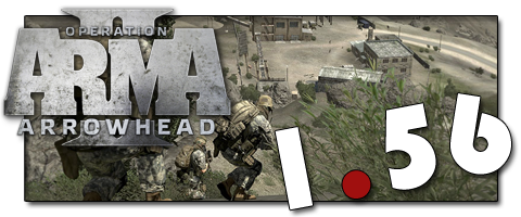 Патч для ArmA 2: Operation Arrowhead версия 1.56