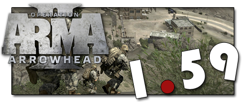 Патч для ArmA 2: Operation Arrowhead версия 1.59